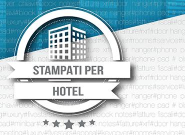 Stampati per hotel